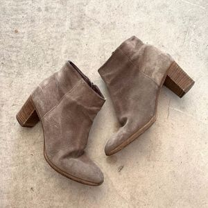 J. Crew Zippered Heeled Booties / Ankle Boots